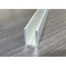Профиль алюминиевый п-образный13х19