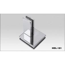 Фитинг для соединения 4 панелей с ребром жёсткости HDL-181