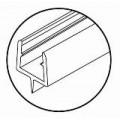 Профиль уплотнительный для душевых кабин HDL 205
