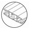 Профиль магнитный для душевых кабин HDL 209