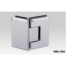 Петля душевая стена-стекло HDL-302