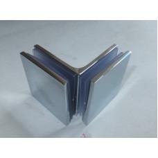 Коннектор для стекла стекло стекло 90 гр HDL-745