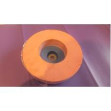 Фетровый круг с подложкой CC 150x44x11 J40 E7 W40 FL синт.розовый спиральный