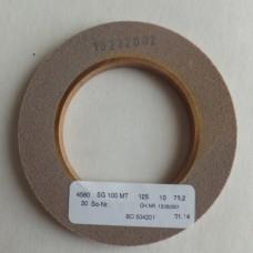 Шлифовальный диск для снятия E-слоя SG 100 MT 125Х10Х76.2 мм