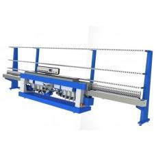 Восьмишпиндельный станок для обработки прямолинейной кромки стекла ROCK 8