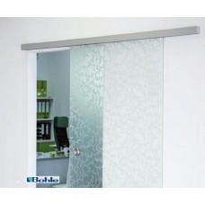 Раздвижная стеклянная дверь с немецкой фурнитурой SlideTec optima 60