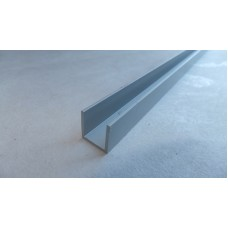 Профиль алюминиевый п-образный15х15